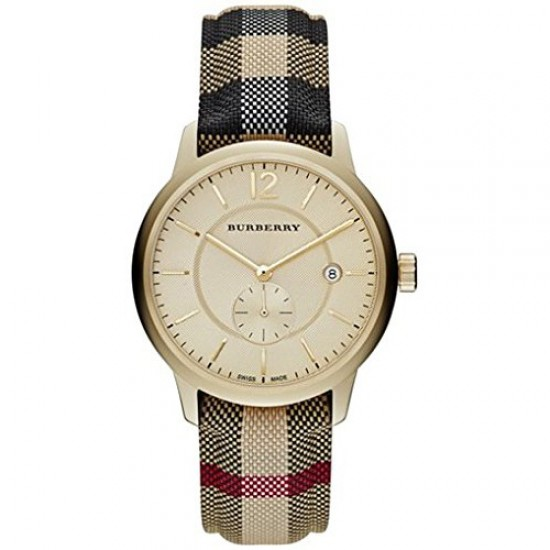 Mens Burberry The Classic Horseferry Check Watch BU10001