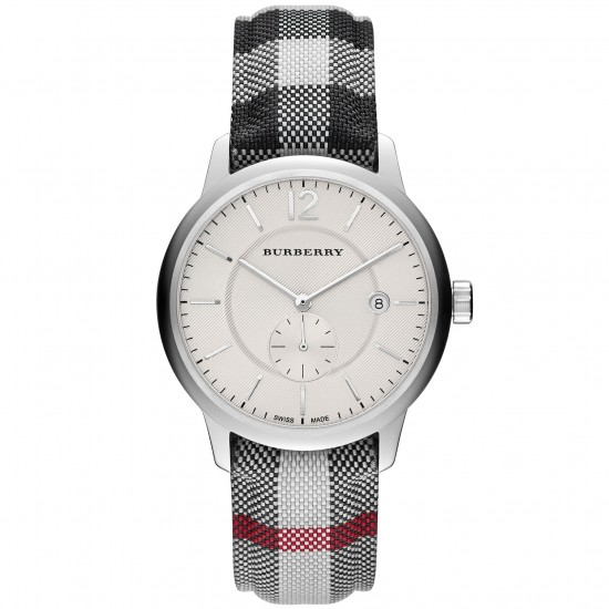 Mens Burberry The Classic Horseferry Check Watch BU10002