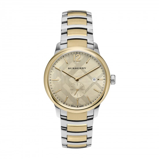 Mens Burberry Classic Round Watch BU10011