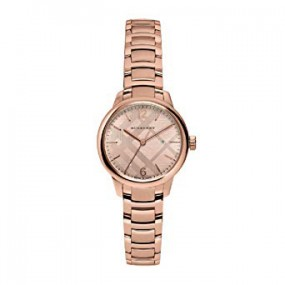 Ladies Burberry Classic Round Watch BU10116