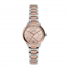 Ladies Burberry Classic Round Watch BU10117