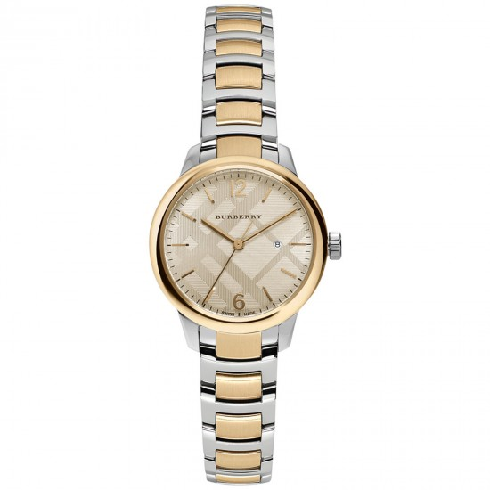 Ladies Burberry Classic Round Watch BU10118