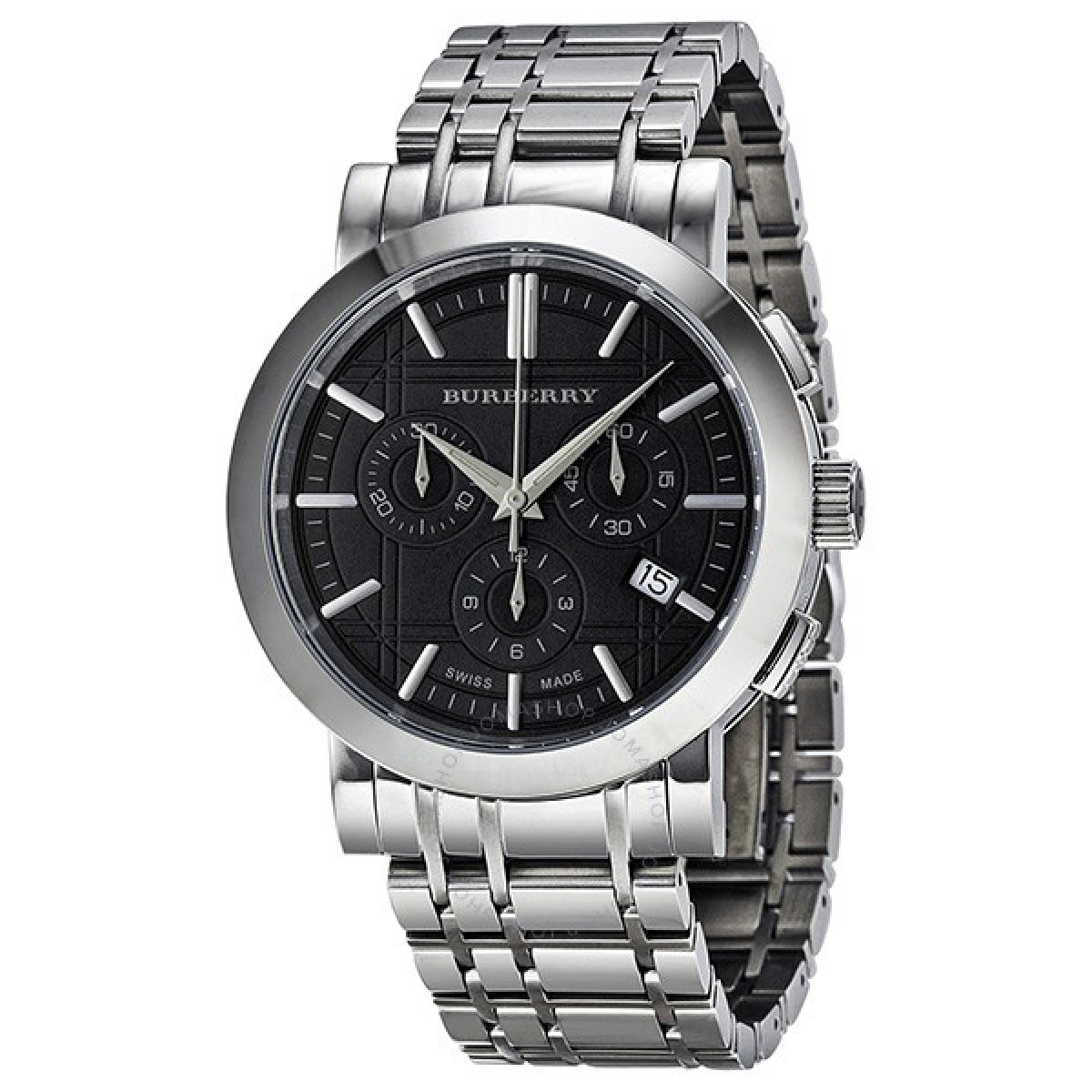 Mens Burberry Heritage Chronograph Watch BU1360