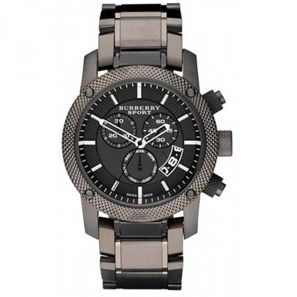 Mens Burberry Sport Chronograph Watch BU7716