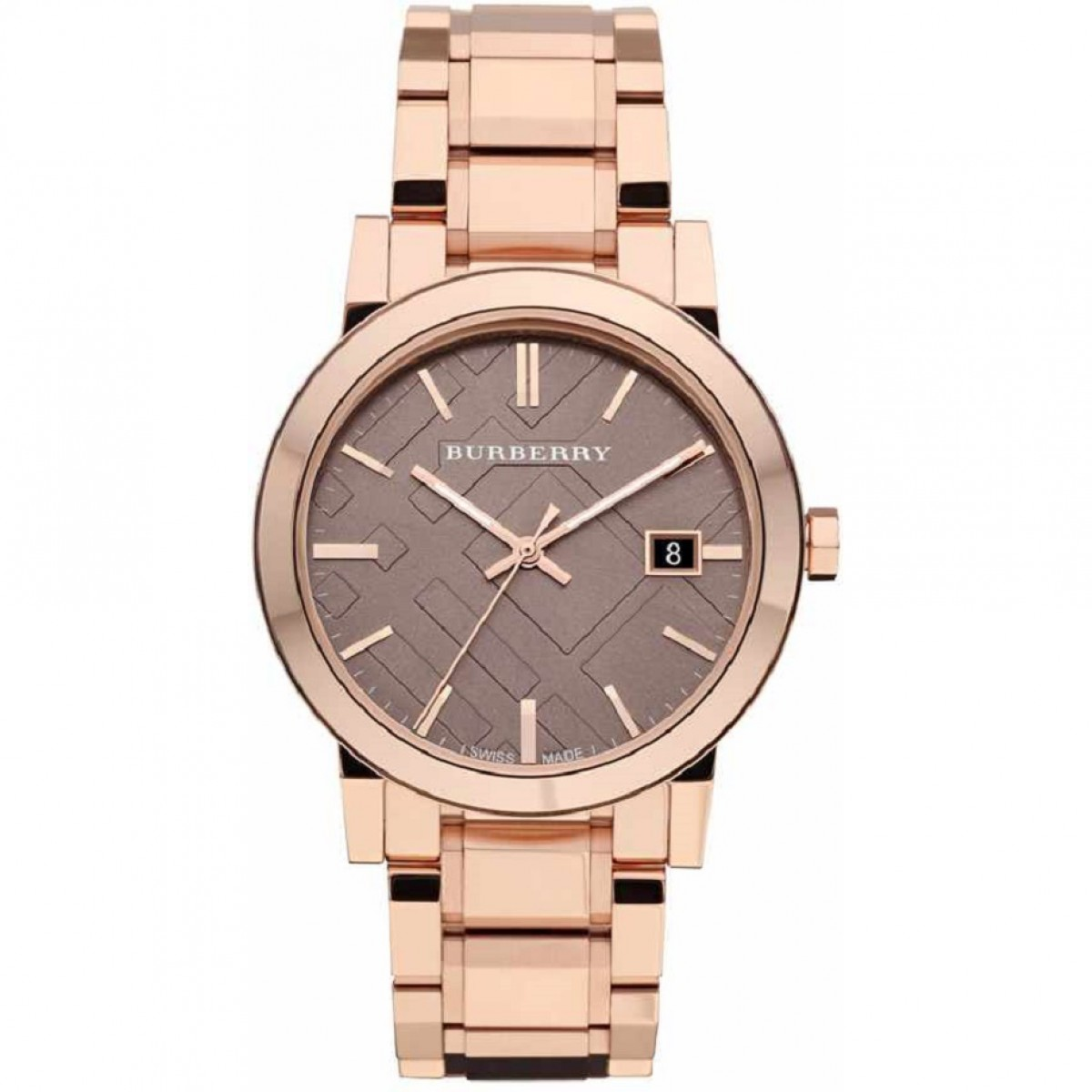 Unisex Burberry Brown Watch BU9005