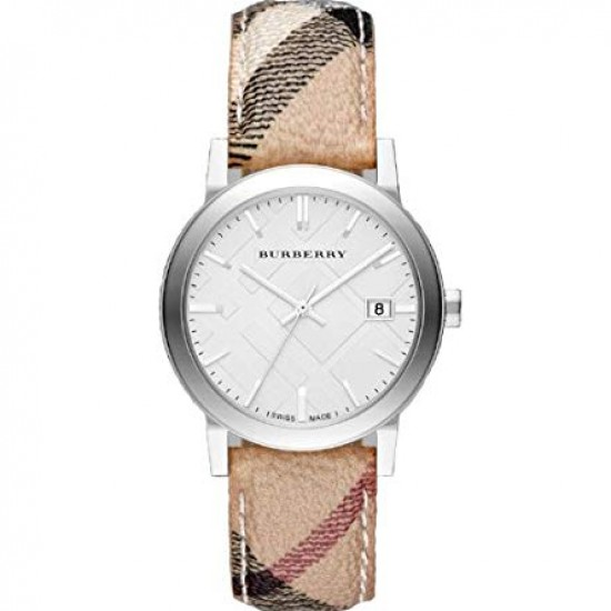Mens Burberry The City Haymarket Check Watch BU9025
