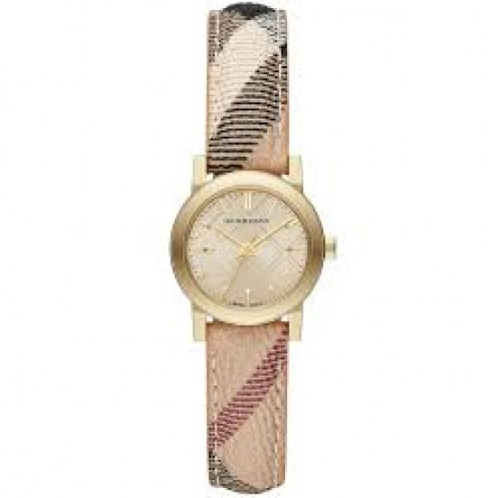 Ladies Burberry Champagne Watch BU9219
