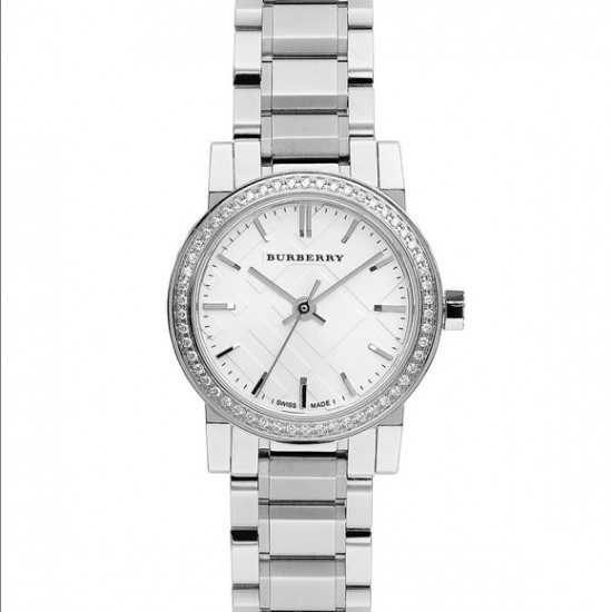 Ladies Burberry The City Diamonds Watch BU9220