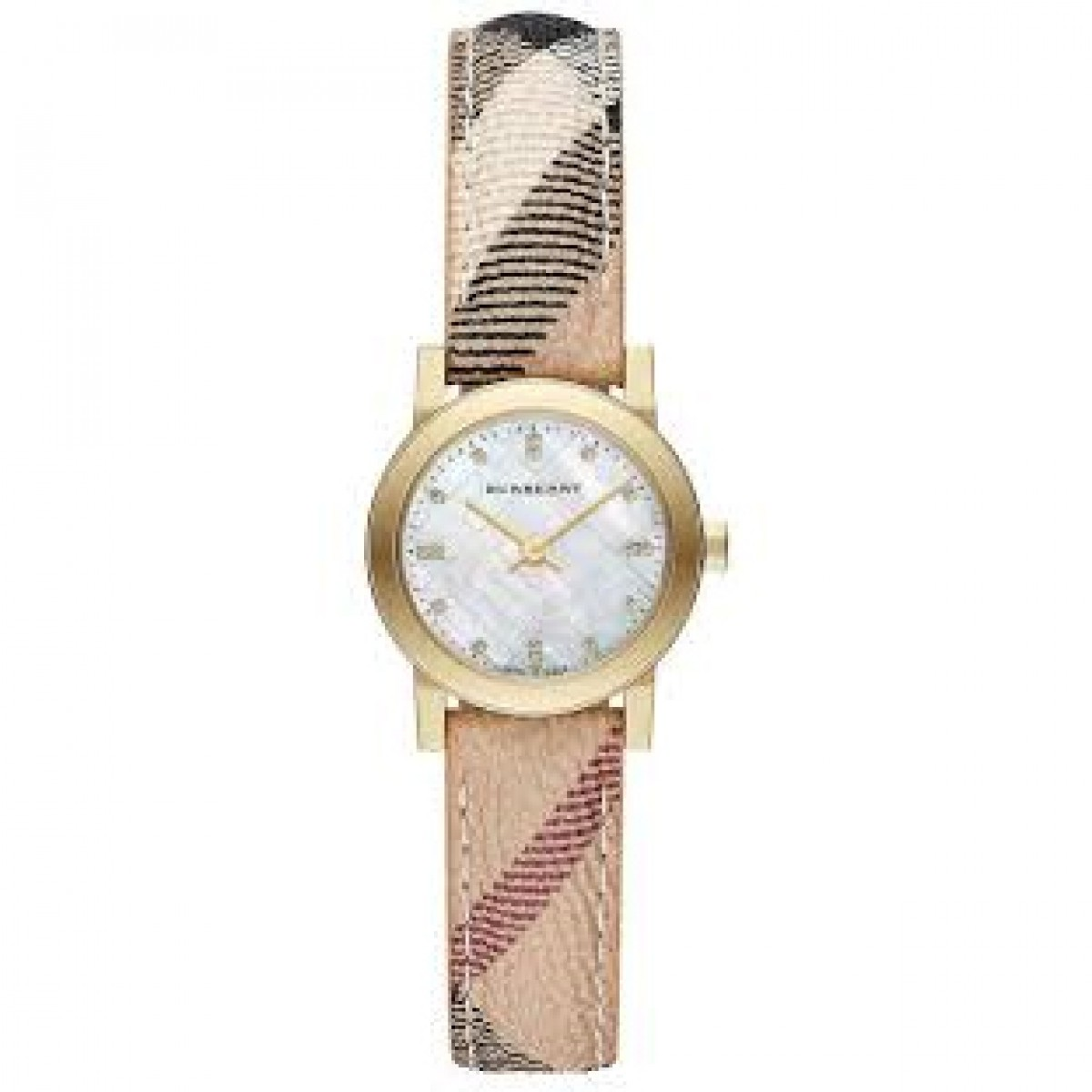 Ladies Burberry The City Diamonds Watch BU9226