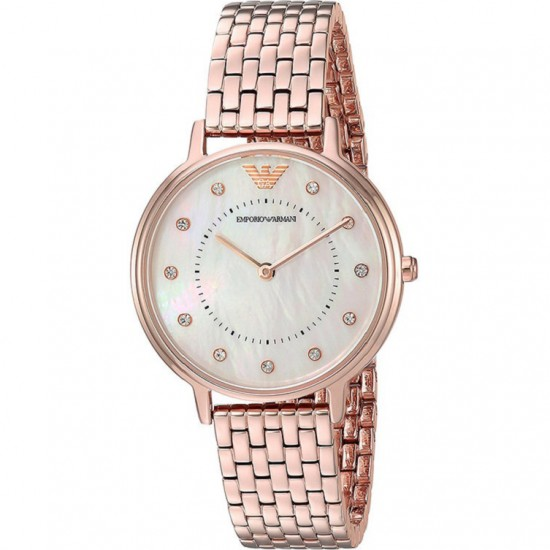 Ladies Emporio Armani Mother of Pearl Watch AR11006