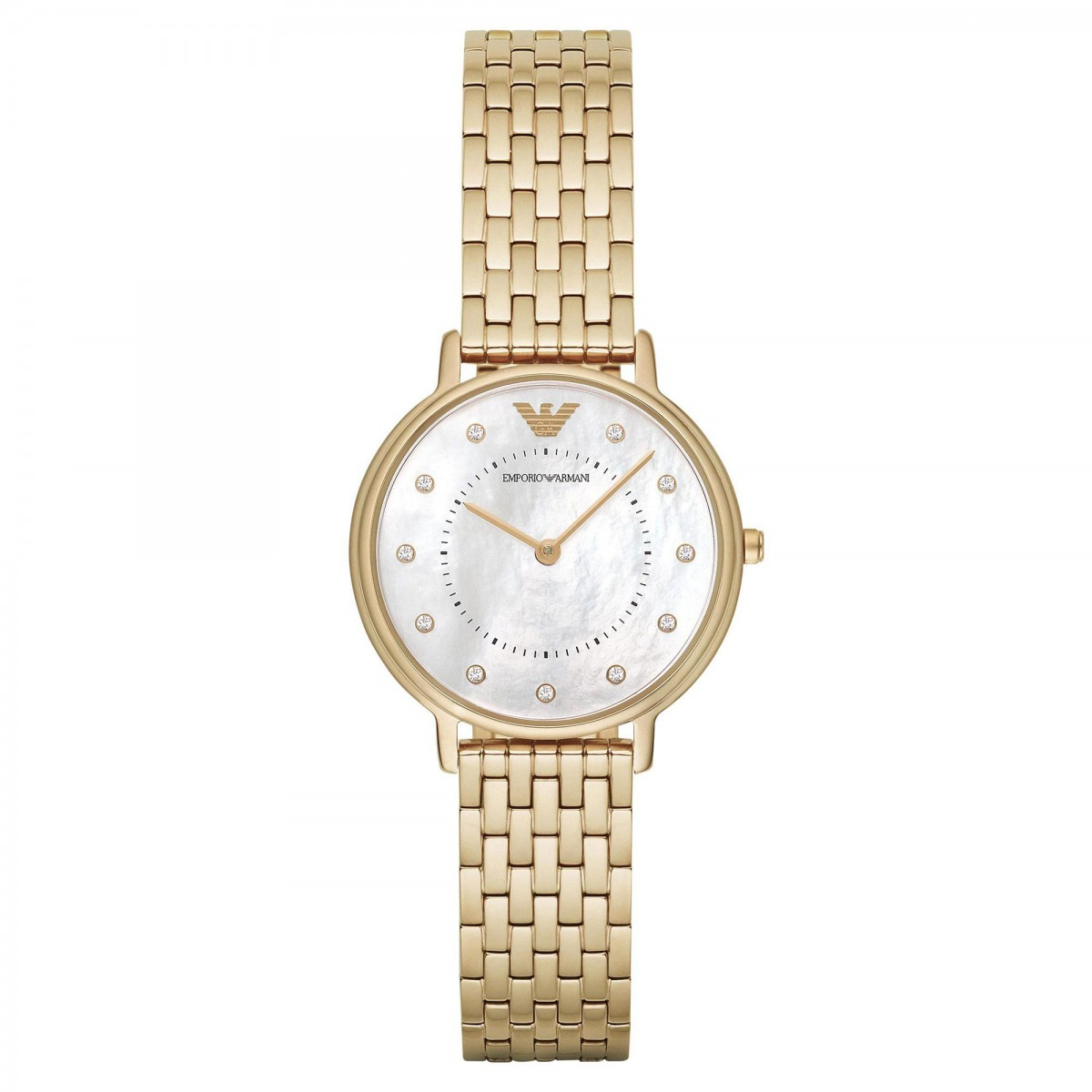Ladies Emporio Armani Mother of Pearl Watch AR11007