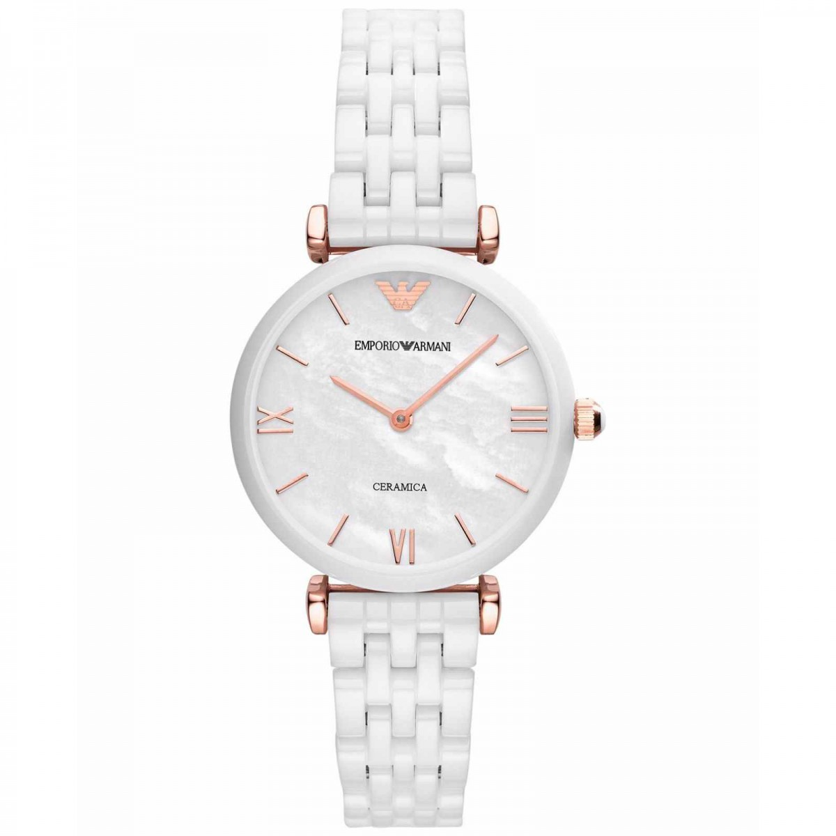 Ladies Emporio Armani Ceramic Watch AR1486