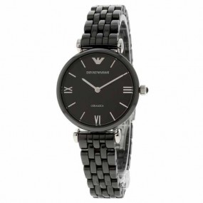Ladies Emporio Armani Ceramic Watch AR1487