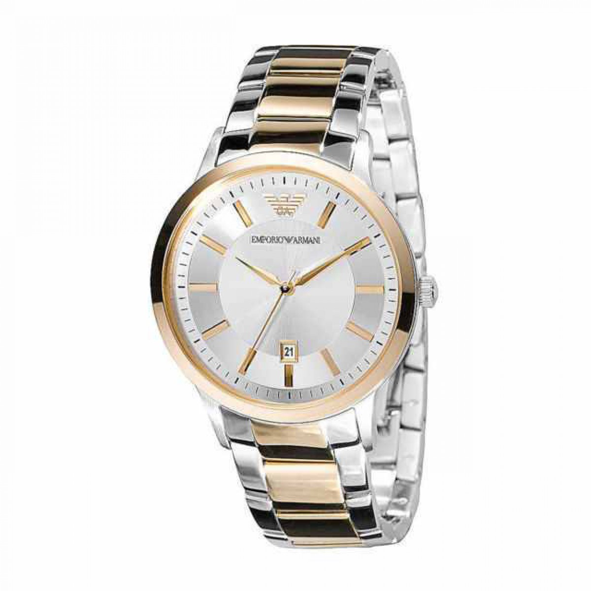 Ladies Emporio Armani Two-Tone Watch AR2450