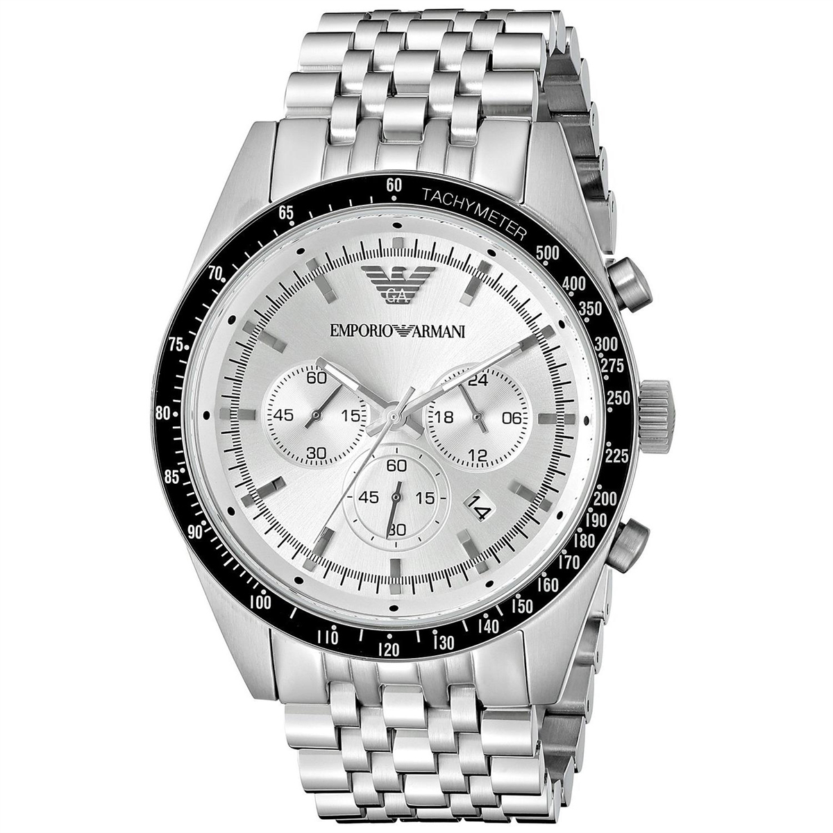Mens Emporio Armani Chronograph Watch AR6073