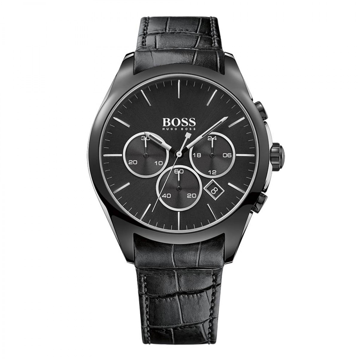 Mens Hugo Boss Onyx Chronograph Watch 1513367