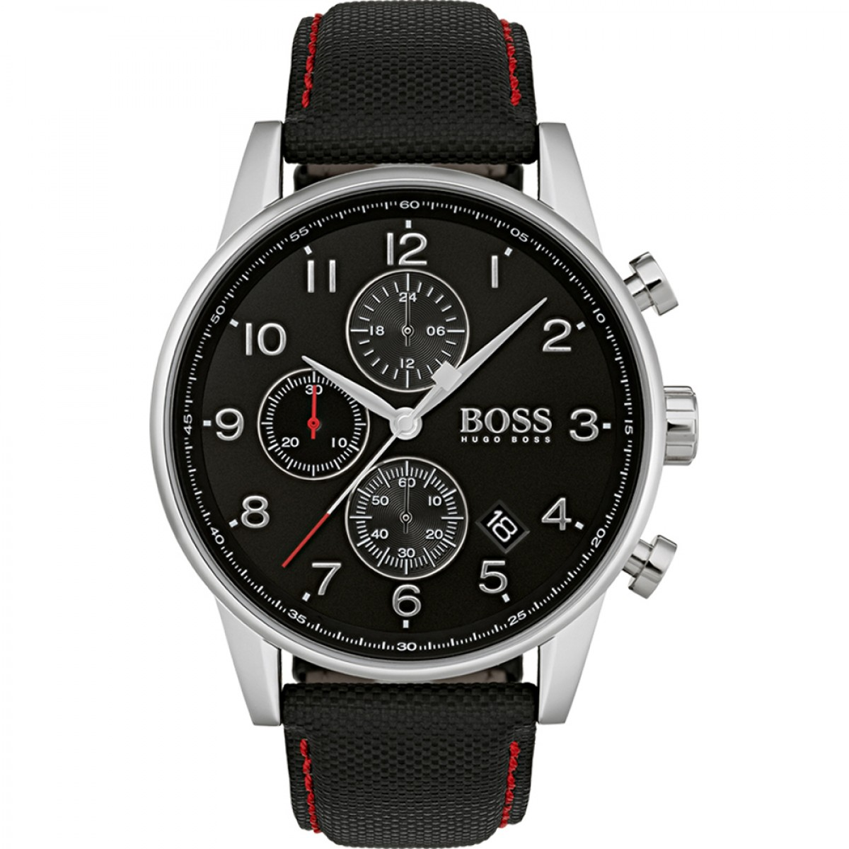 Mens Hugo Boss Navigator Chronograph Watch 1513535