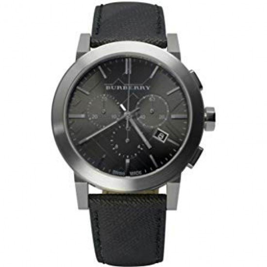 Mens Burberry The City Chronograph Watch BU9362
