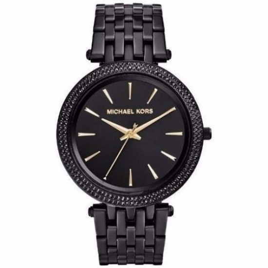 Ladies Michael Kors Black Darci Watch MK3337