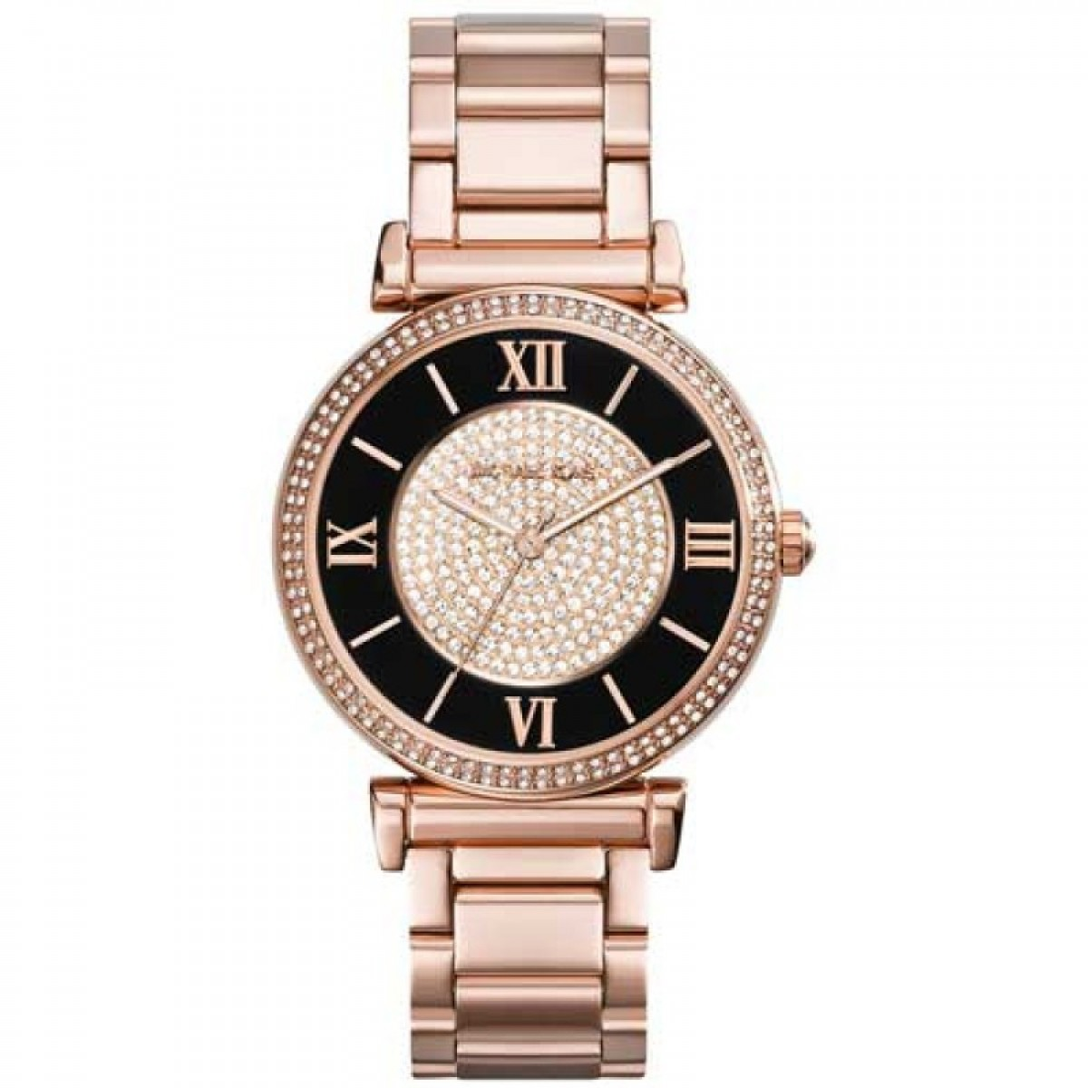 Ladies Michael Kors Rose Gold Catlin Watch MK3339