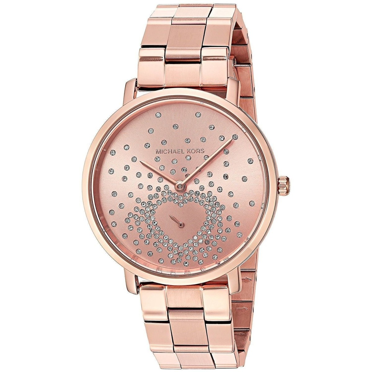 Ladies Michael Kors Jaryn Pink Dial Ladies Gift Set