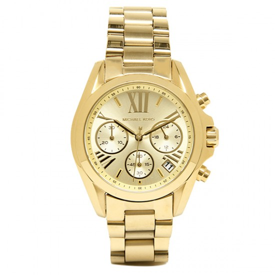 Ladies Michael Kors Bradshaw Mini Chronograph Watch MK5798