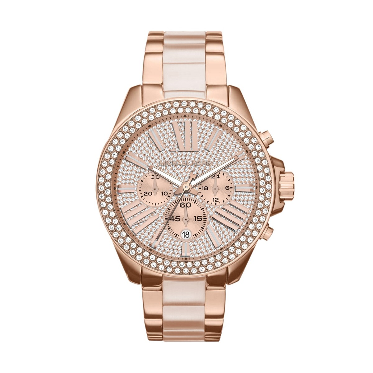 Ladies Michael Kors Wren Chronograph Watch MK6096