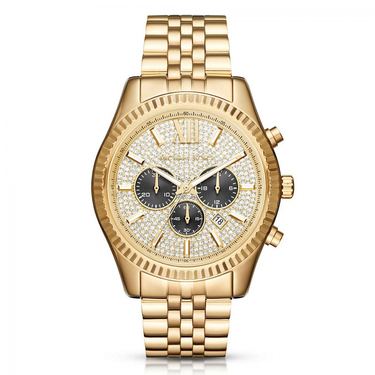 Mens Michael Kors Lexington Chronograph Watch MK8494