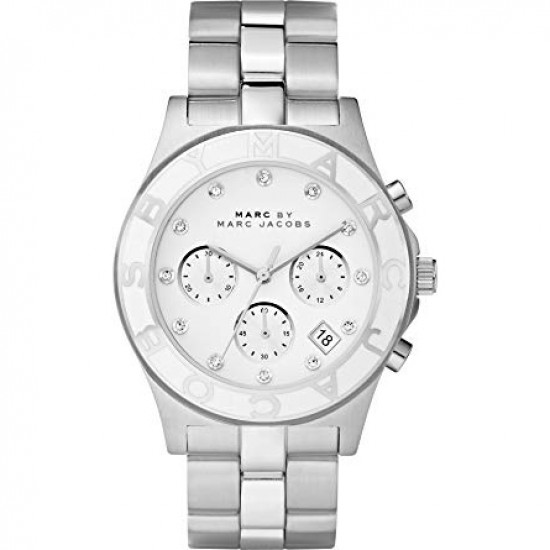 Ladies Marc Jacobs Rock Chronograph Watch MBM3080