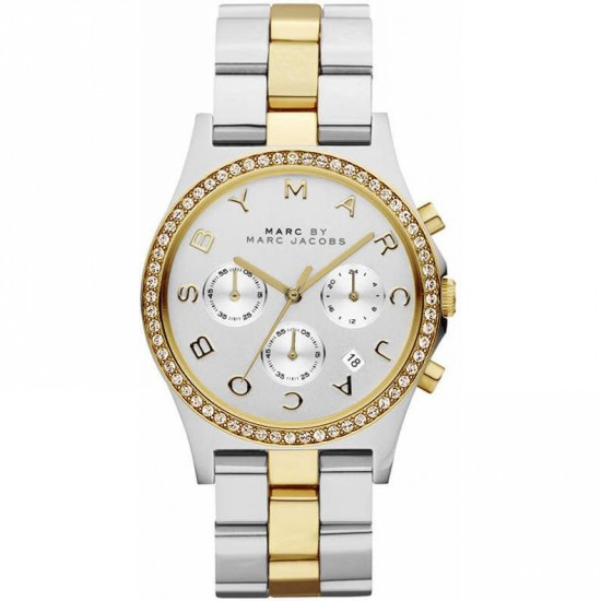 Ladies Marc Jacobs Henry Chronograph Watch MBM3197