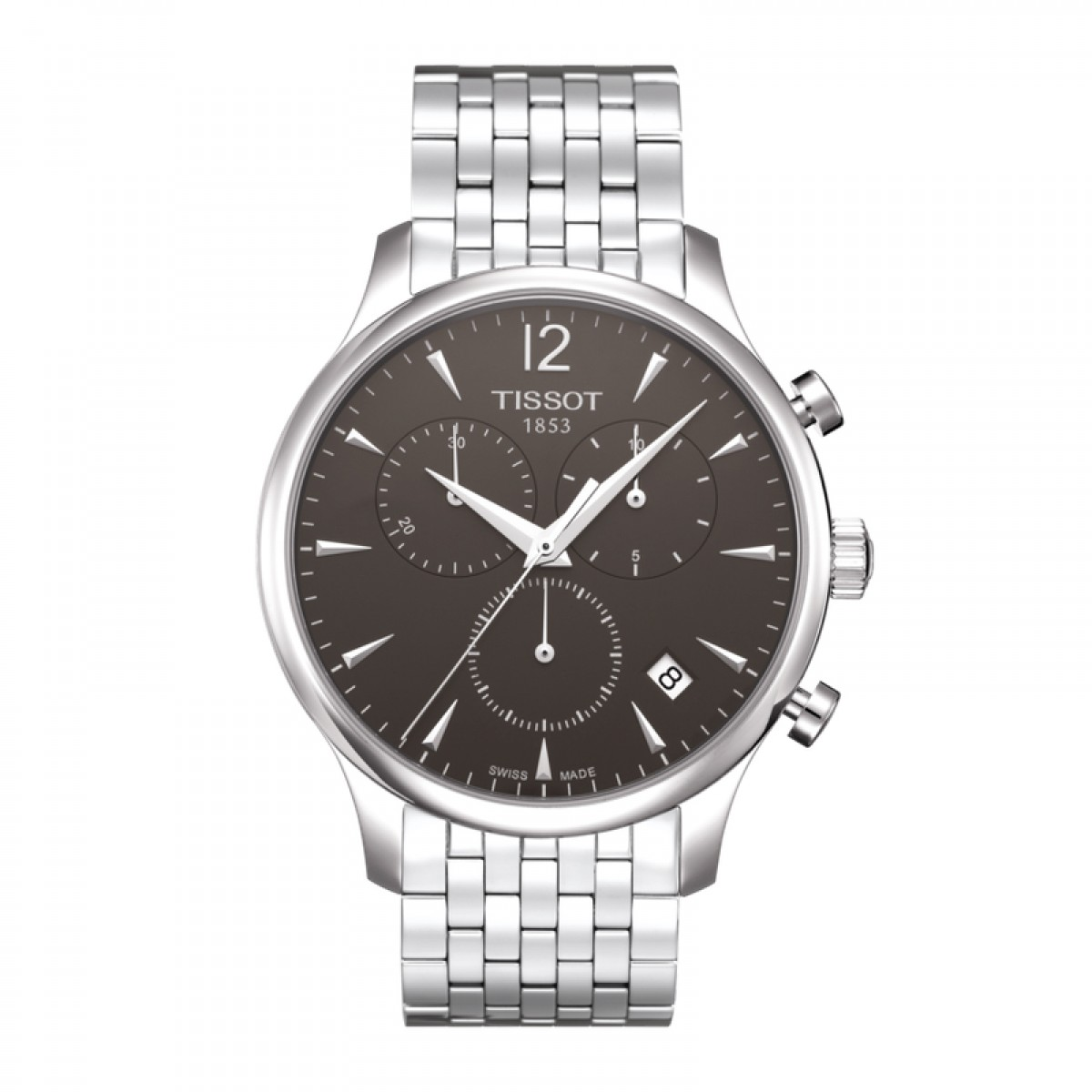 Mens Tissot Tradition Chronograph Watch T0636171106700