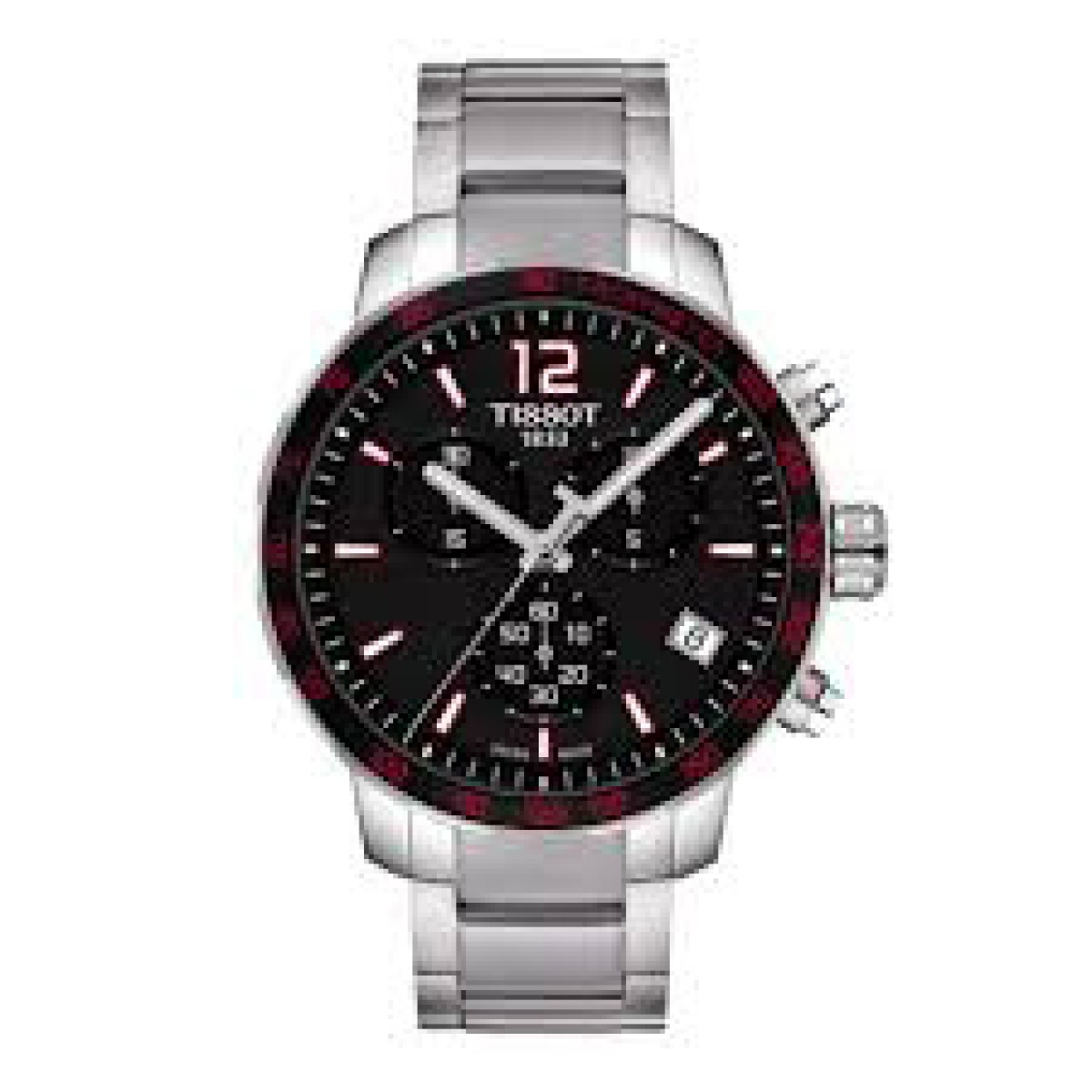 Mens Tissot Quickster Chronograph Watch T0954171105700