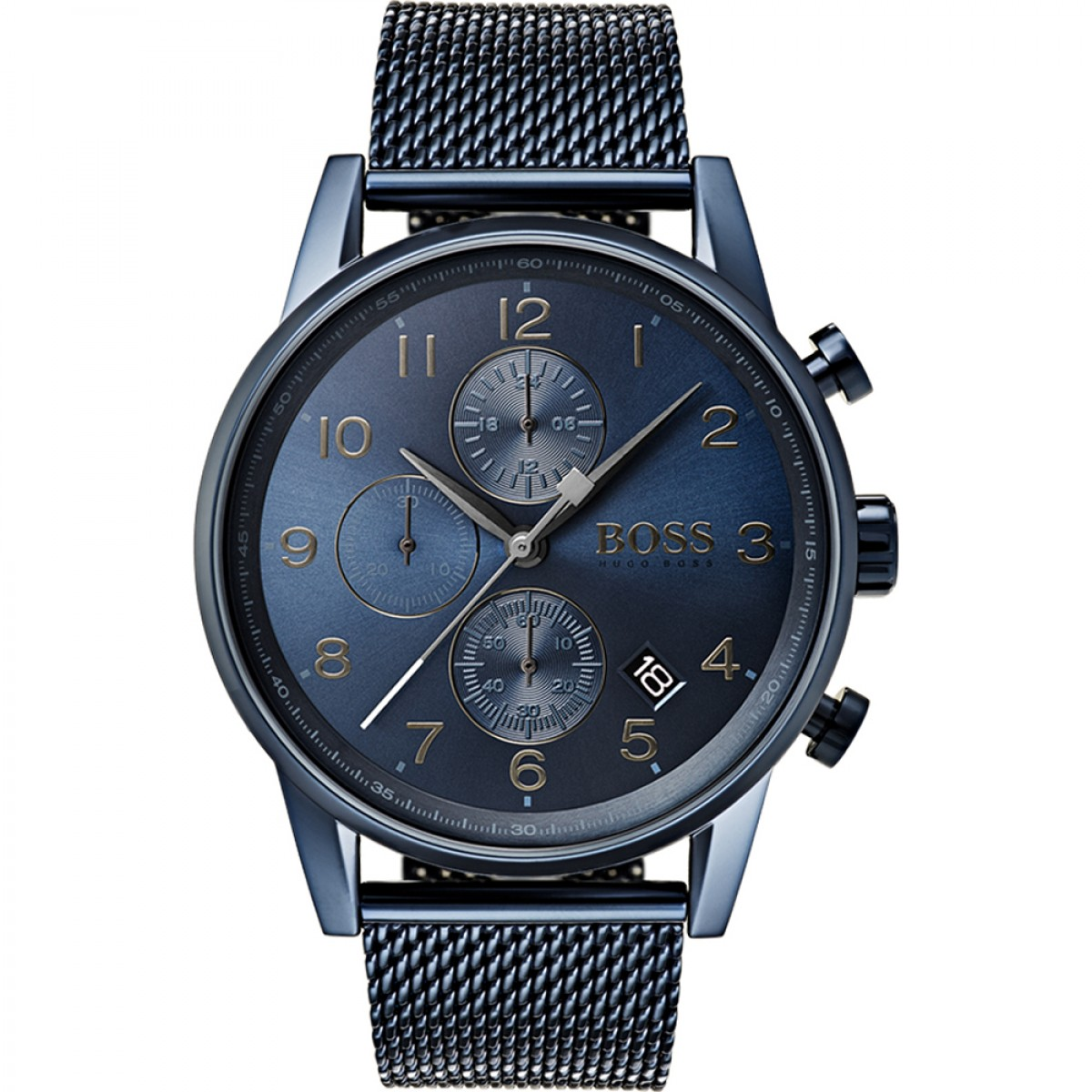 Mens Hugo Boss Navigator GQ Edition Chronograph Watch 1513538